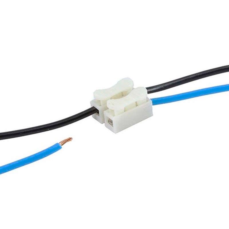 Conector r pido b08 para 2 cables 0 5 ledbox for Cables pc galeria jardin