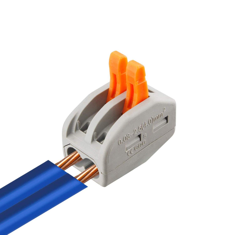 Conector r pido wago para cables 0 08 2 5mm2 ledbox for Cables pc galeria jardin